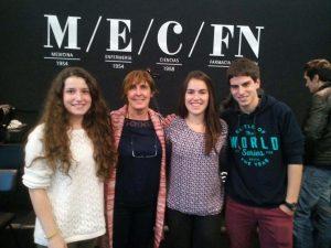 Tres alumnos de 2º de Bachiller han entrado en el Club de la Ciencia de la Universidad de Navarra