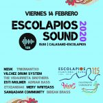 Cartel Escolapios Sound 2020